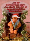 TATZINO ...und der Weihnachtsmann sagte Postkarte