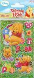 BSB Disneys Winnie Pooh grün 3D Creativ Sticker