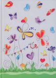 RKN Schmetterlinge A5 Notizbuch kariert
