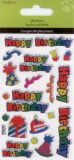 SANDYLION Happy Birthday Prismatic Sticker