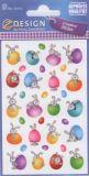 Z-Design Hasen mit Eiern Sticker