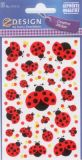 Z-Design ladybugs with dots stickers
