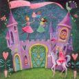 GOLLONG Märchenschloß mit Einhorn - Mila Marquis Postkarte