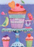 GOLLONG Süße Grüße / Muffin - Mila Marquis Postkarte