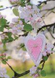 GOLLONG Herz in blühendem Baum - Martina Carmonsino Postkarte