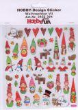 HobbyFun Weihnachtsfiguren Hobby-Design Sticker