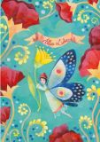 GRÄTZ Alles Liebe / Schmetterlingselfe - Aurélie Blanz Postkarte