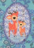 FROY & DIND Bambi & Child Postkarte