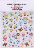 HobbyFun Eulen III Hobby-Design Sticker