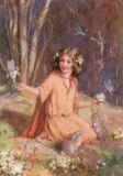 TAURUS-KUNSTKARTEN Primrose Fairies Postkarte