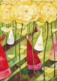 GRÄTZ Blumenwiese - Aurélie Blanz Postkarte