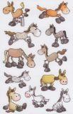 Z-Design Lustige Pferde Sticker