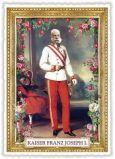 TAUSENDSCHÖN Kaiser Franz Joseph I. Postkarte