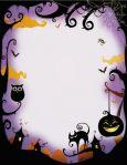 PAPERDIRECT Halloween Night Briefpapier US Format
