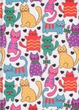 VENCEREMOS Happy Cats A5 Notizbuch blanko