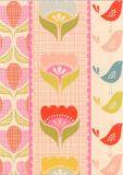 WENDEKREIS Fleurs Pastels Postkarte