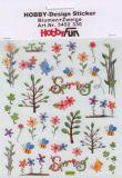 HobbyFun Blumen + Zweige Spring Hobby-Design Sticker
