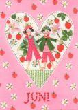 GOLLONG Juni / Herz - Kerstin Heß Postkarte