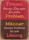 HARTUNG EDITION Lösungen für jedes Problem WORDS UP Postkarte