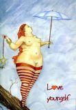 DANACARDS Love yourself - Lilli Kuhn Postkarte