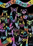 DANACARDS Eulenfreunde - Owls Art Suri Postkarte