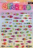 Fische - Stickerbogen