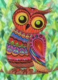 DANACARDS Paradies-Eule - Owls Art Suri Postkarte