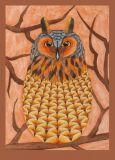 OWL ART SURI Waldohreule Postkarte