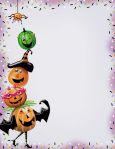 PAPERDIRECT Spooky Pumpkins Briefpapier US Format