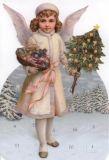 TAUSENDSCHÖN Engel Weihnachtsfreude Adventskalender Karte