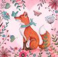 GOLLONG Fuchs - Cartita Design Postkarte
