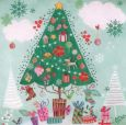 GOLLONG Weihnachtsbaum - Cartita Design Postkarte