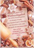 HARTUNG EDITION Rezept für ganz viel Weihnachtsglück IN TOUCH Postkarte
