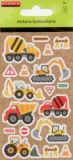 ECETERA Baustelle Glitter Sticker