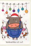 RANNENBERG Weihnachten ist cool - Adventskalender Karte