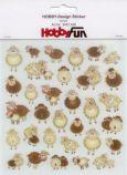 HobbyFun Schafe Hobby-Design Sticker