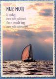 GWBI Nur Mut! / Segelboot - CardArt Postkarte