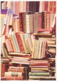 RANNENBERG Bücherstapel Postkarte