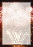 Paper-Media Feuerwerk am Hafen Briefpapier A4