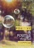 KATJA DIECKMANN Think positive - Zauberwerke Postkarte